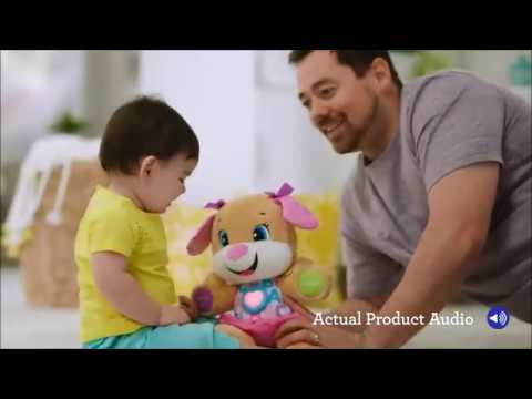 Smyths Toys - Fisher-Price Laugh & Learn Smart Stages Puppy