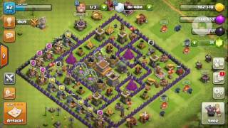 Clash of Clans ||All P.E.K.K.A vs single player last camp||how to clear last single player base||