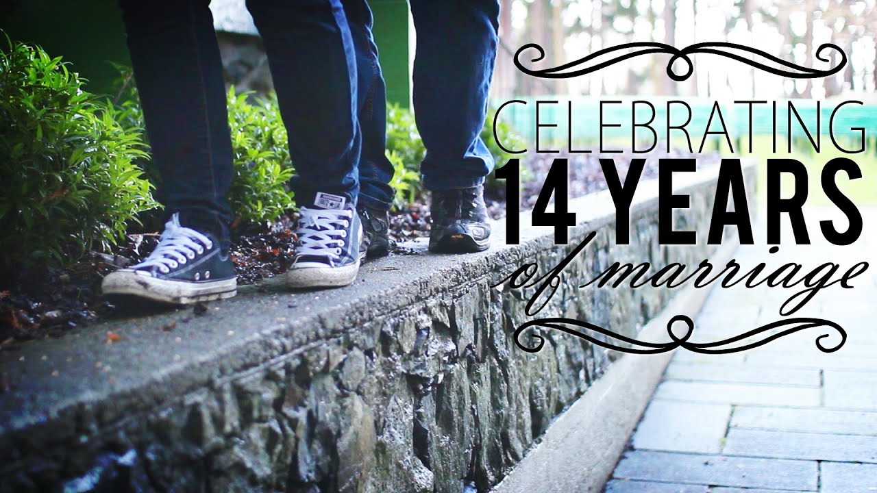 Wedding Gifts For 14th Anniversary : Celebrating Our 14th Wedding Anniversary - YouTube