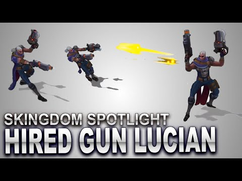 Hired Gun Lucian Skin Spotlight | SKingdom - League of Legends
