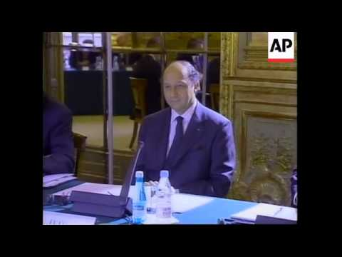 FRANCE: EUROPEAN CENTRAL BANK MEETING
