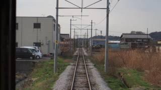 近江鉄道220形前面展望 フジテック前→鳥居本