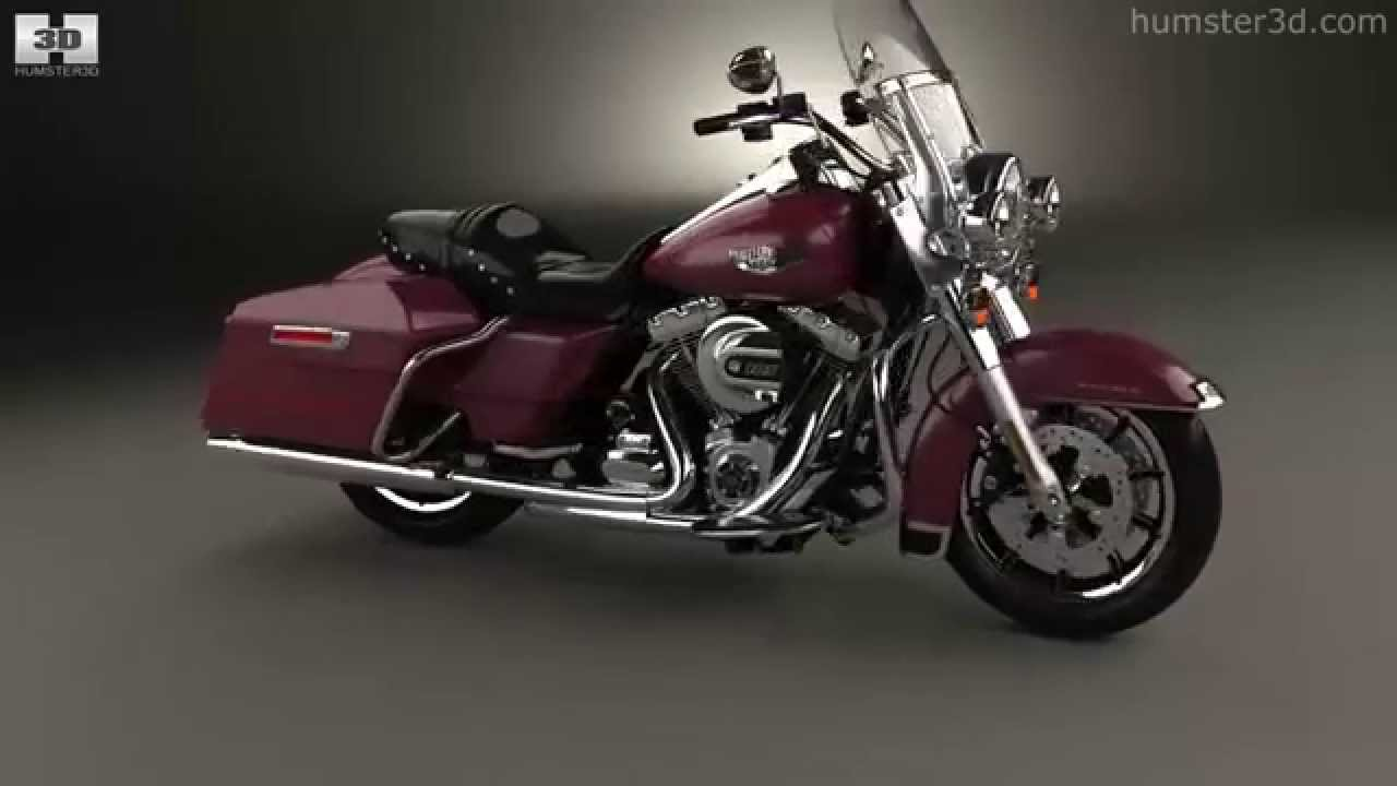 hight resolution of harley davidson flhr road king 1994 by 3d model store humster3d com