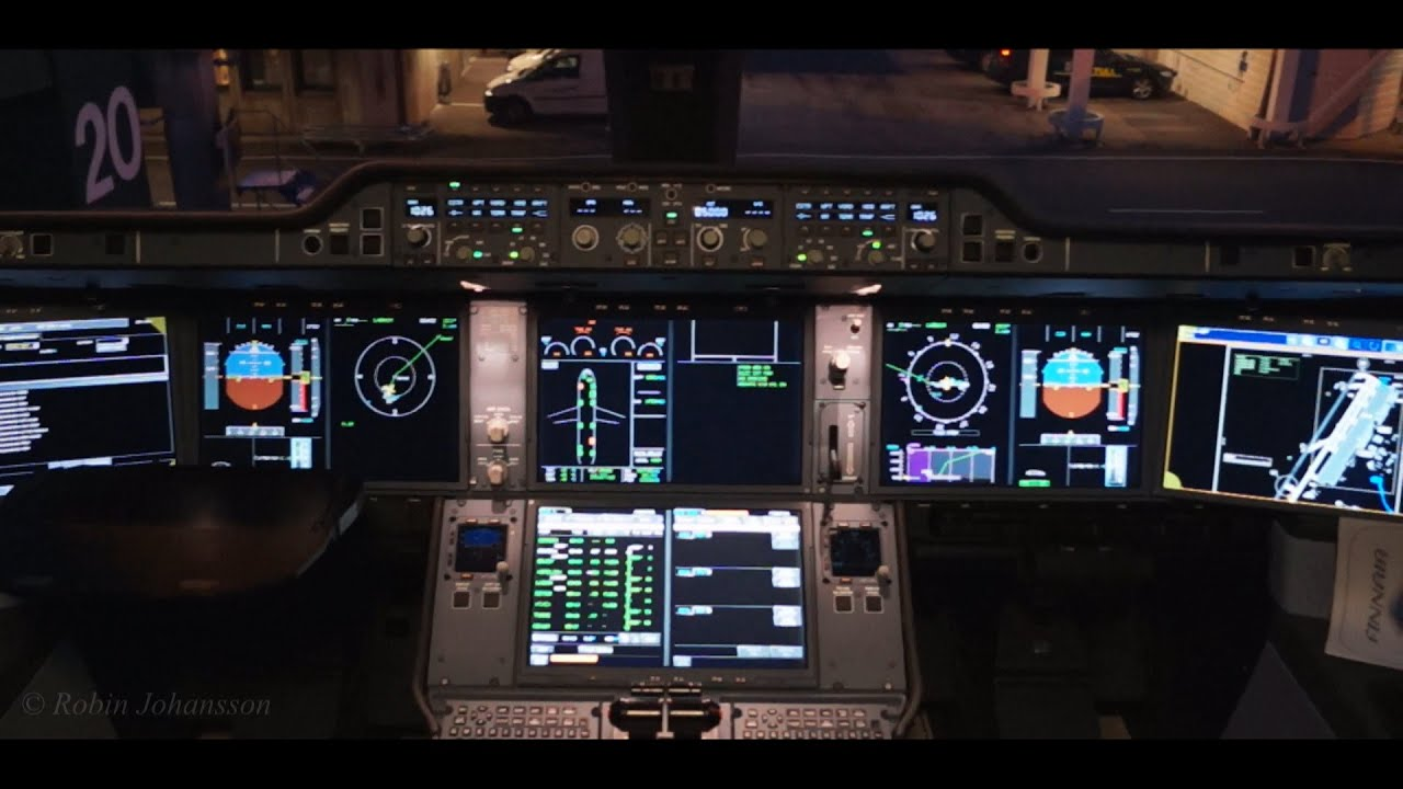 Airplane Full Hd Wallpaper Cockpit Tour In The New Airbus A350 900 Youtube