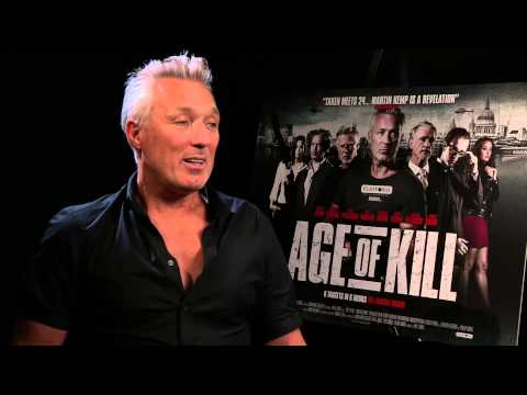 Martin Kemp Interview 2015 - Age of Kill