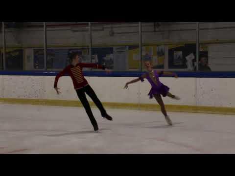 Lika Bondar/Artem Koval Mezzaluna Cup 2019 Free Dance