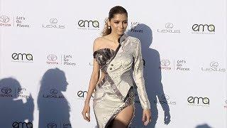 Blanca Blanco EMA's 27th Annual Awards Gala Green Carpet