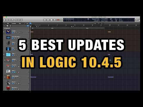 5 Amazing Updates in Logic Pro X 10.4.5