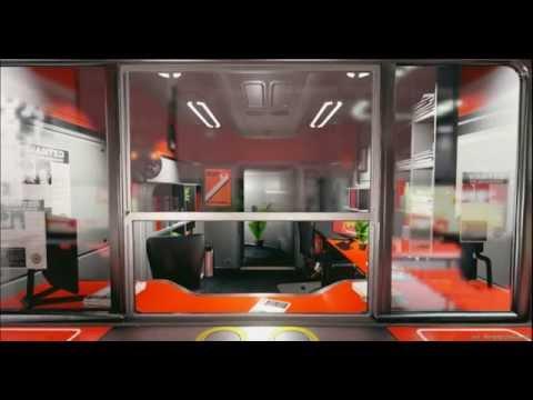 Unreal Engine 4 SciFi Hallway