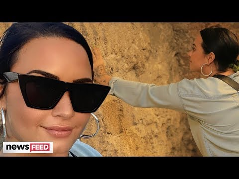 Demi Lovato BASHED For Taking Brand Deal Trip To Israel!