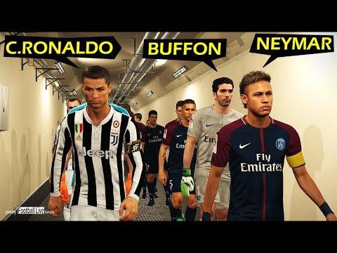 PES 2018 | PSG vs Juventus | BUFFON, NEYMAR vs C.RONALDO | Gameplay PC Mp3