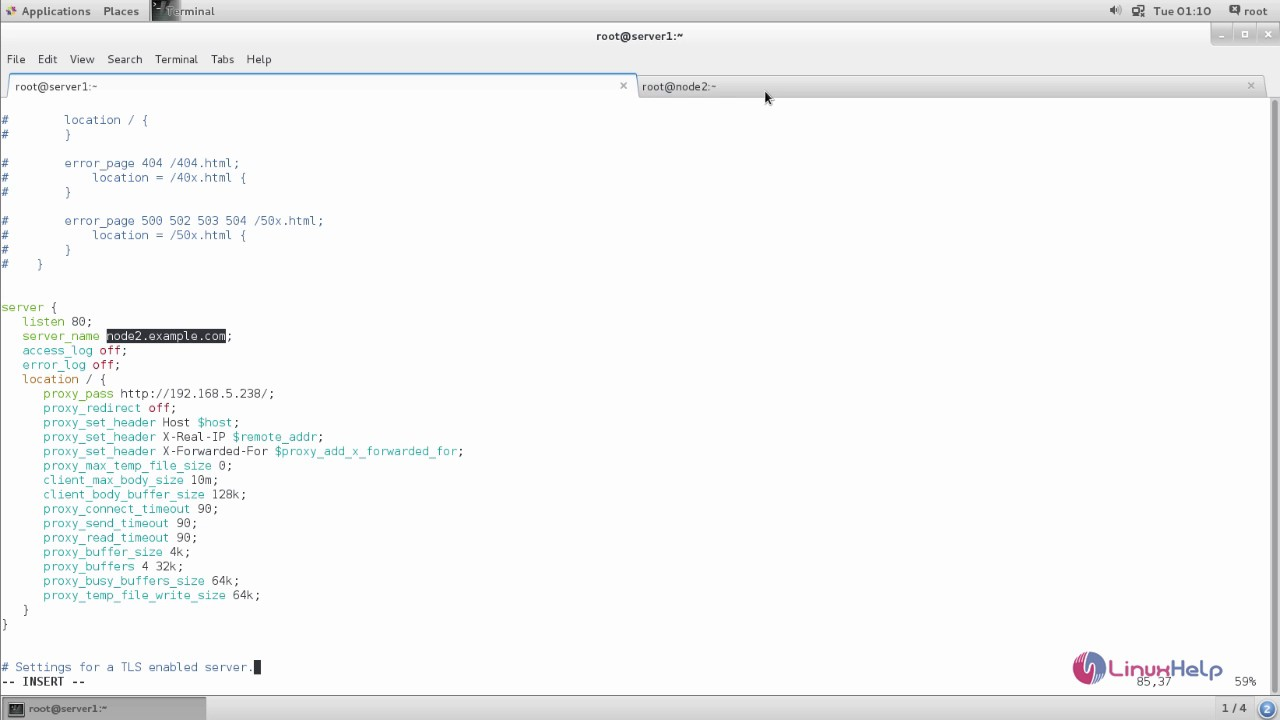 How to Configure Nginx as a Reverse Proxy in CentOS