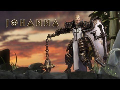 видео: heroes of the storm - Джоанна Первый Взгляд