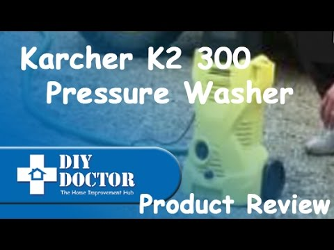 Karcher K2 300 Pressure Washer Product Review