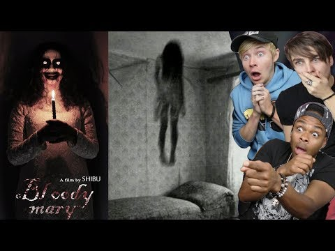 REACTING TO THE MOST SCARY SHORT FILMS ON YOUTUBE PART 6 ft. Sam and Colby (DO NOT WATCH AT NIGHT)