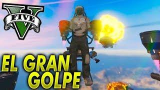 EL GRAN GOLPE! NUEVO DLC GTA V - ATRACO A BANCOS 2