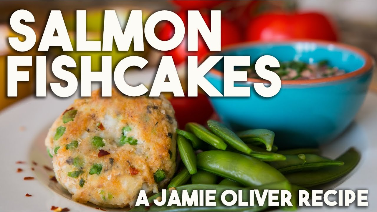 Salmon Fishcakes For Jamie Olivers Food Revolution Youtube