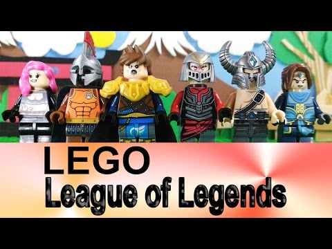 Lego - League of Legends - LOL - Minifigures Review by Decool - YouTube