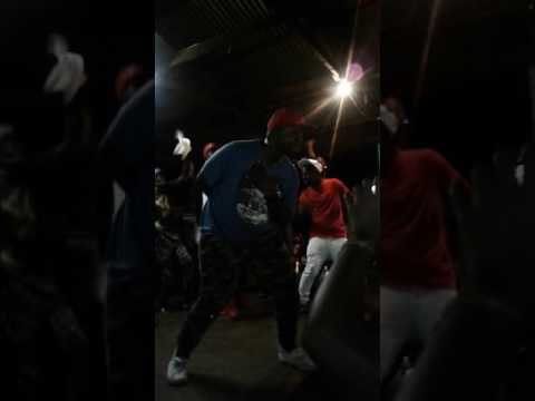 The double trouble vs king monada on the stage