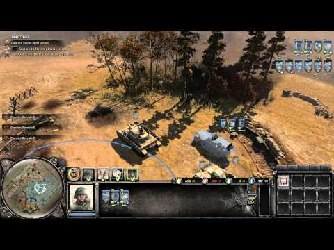 Company Of Heroes 2: Theater of War: Operation Barbarossa [Blitzkrieg on General Difficulty]