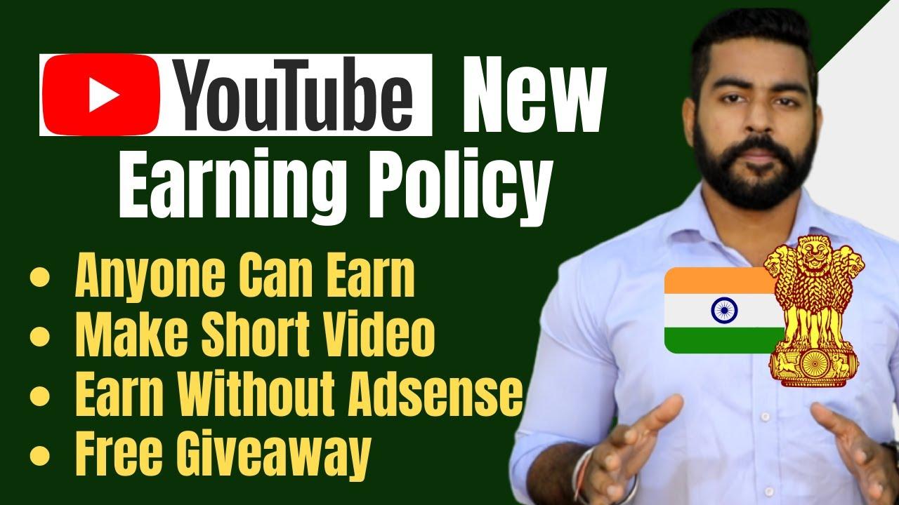 Youtube New Earning Scheme   Earn Money from Short video   Earn Without Adsense   Praveen Dilliwala