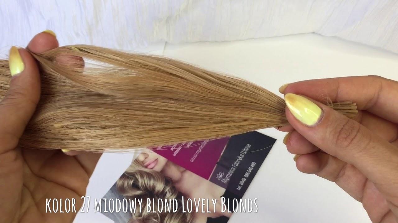 Miodowy Blond Kolor 27 Lovely Blonds Piękny Ciepły Kolor