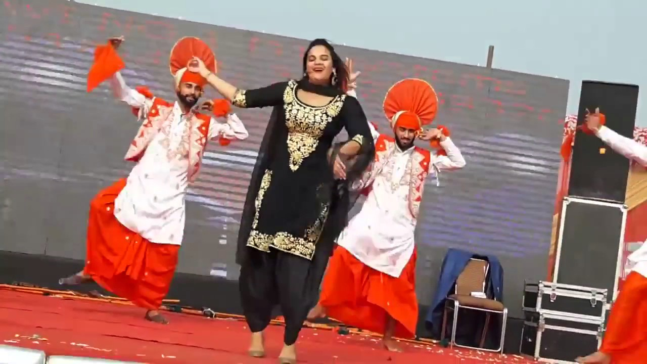 Image result for punjabi stage  dance