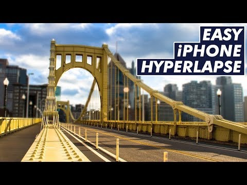 The EASIEST Way to Make a Hyperlapse | iPhone Tutorial
