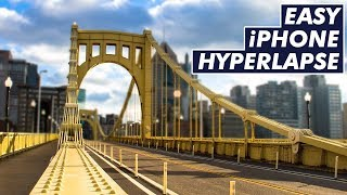 how to Make Hyperlapse Video with iPhone & Android Easy Tutorial!