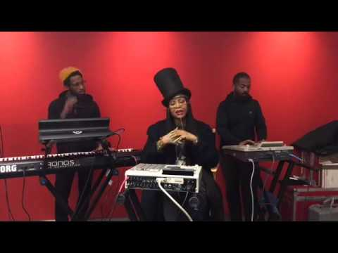 Erykah Badu Performs For The New York Times