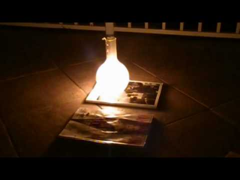 Combustion in Pure Oxygen