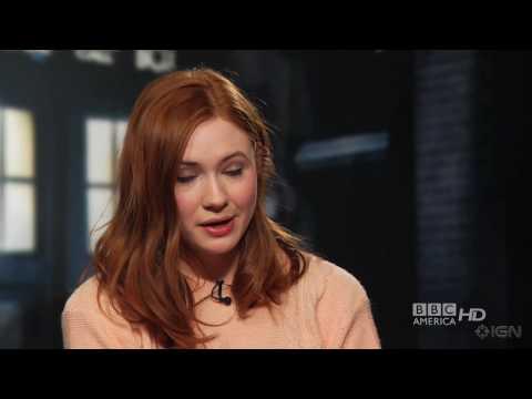 Doctor Who - Karen Gillan Interview
