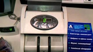 Счетчик банкнот PRO 40U Neo(В данном видео показана работа счетчика банкнот, купюр, денег PRO 40 U Neo. Подробнее: http://a-techno.com.ua/79.html ООО