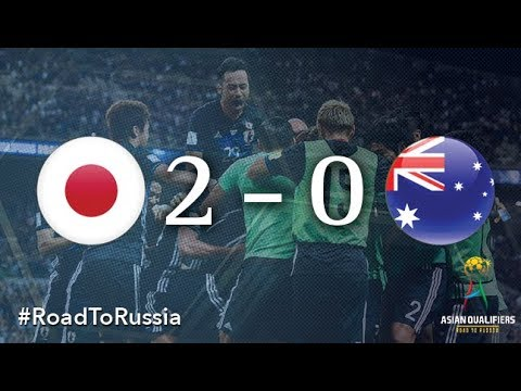 Japan vs Australia (2018 FIFA World Cup Qualifiers)
