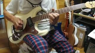 バスストップ 平 浩二 エレキインスト 私の好きなカラオケ曲を演奏しま...