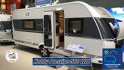 Vorstellung eines Hobby Prestige 560 WLU auf dem Caravan Salon 2019