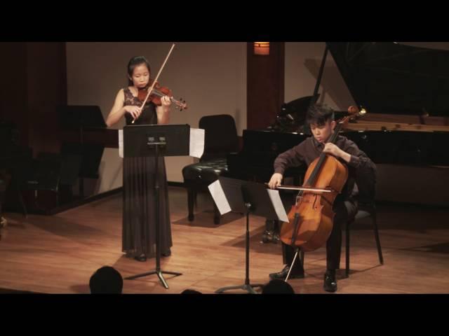 Handel/Halvorsen: Passacaglia in G minor for Violin and Cello