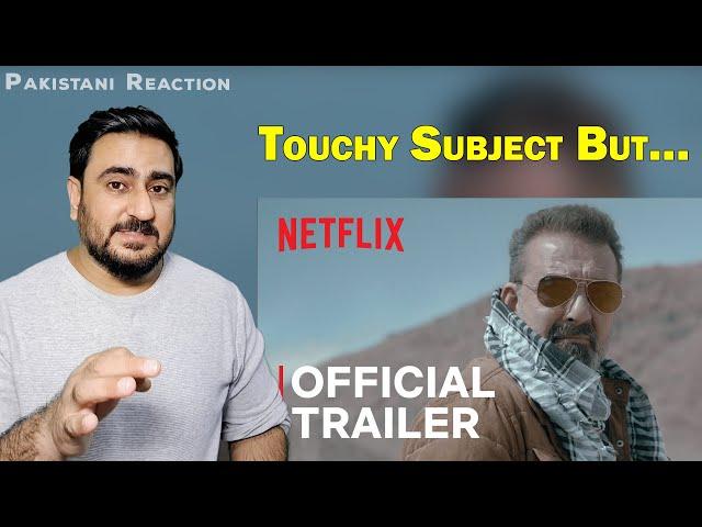 Torbaaz Official Trailer Reaction | Sanjay Dutt | Pakistani Reaction | IAmFawad