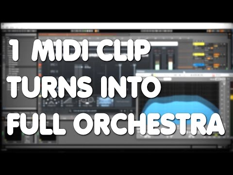 How To Make Epic Orchestral Music with 1 Midi Clip