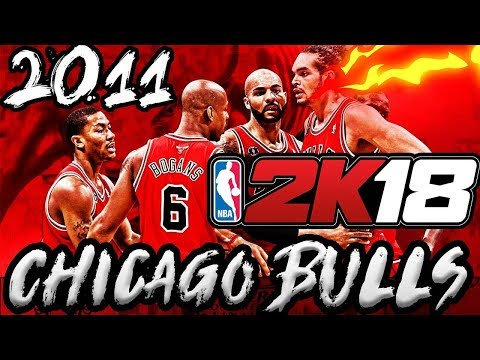 2010-2011 CHICAGO BULLS ARE IN NBA 2K18!! PRIME DROSE IS BACK!!🔥🔥99 Overall!!??