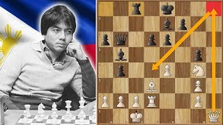 Mess With the Bull, and You get the Horns - Karpov vs Torre (Thrilla in Manilla, 1976.)