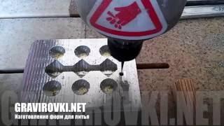 видео изготовление пресс форм киев