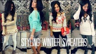 Styling Winter Sweaters - Belinda Selene