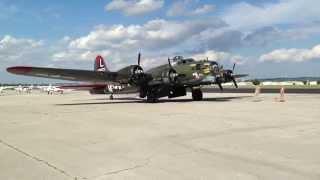 """B-17 """"Texas Raiders"""" at KRVS"""
