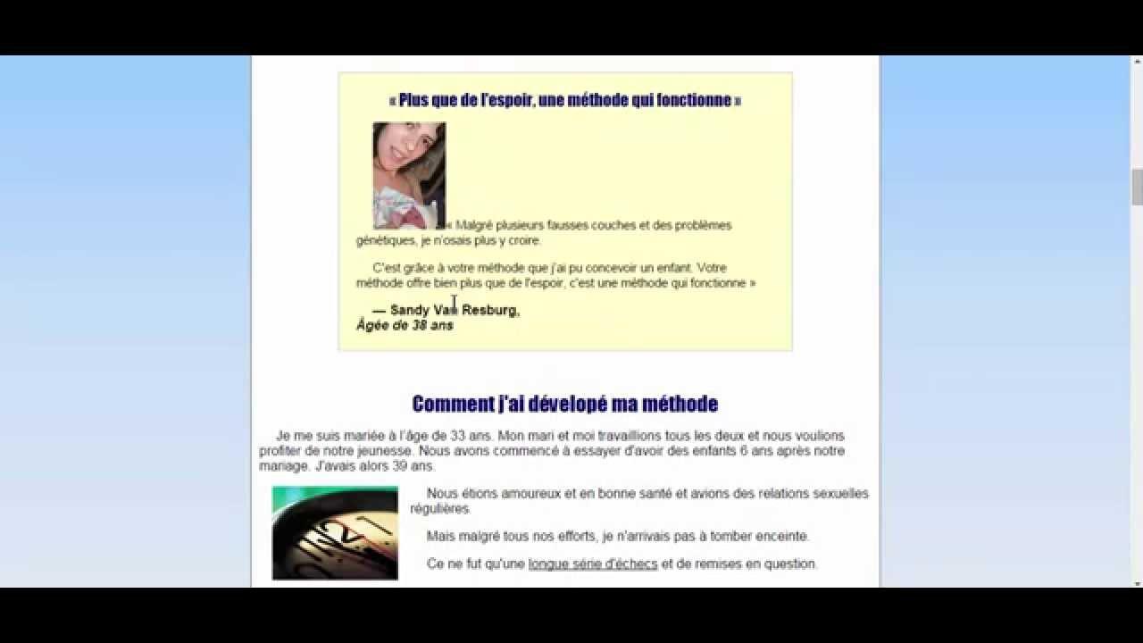 Comment tomber enceinte rapidement le guide pdf de - Retour de couche tomber enceinte ...