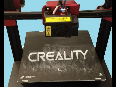 Repeat Creality CR10s Pro 3D Printing problems and ringing