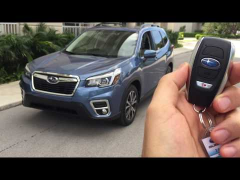 Subaru Forester Limited 2019 | Encendido