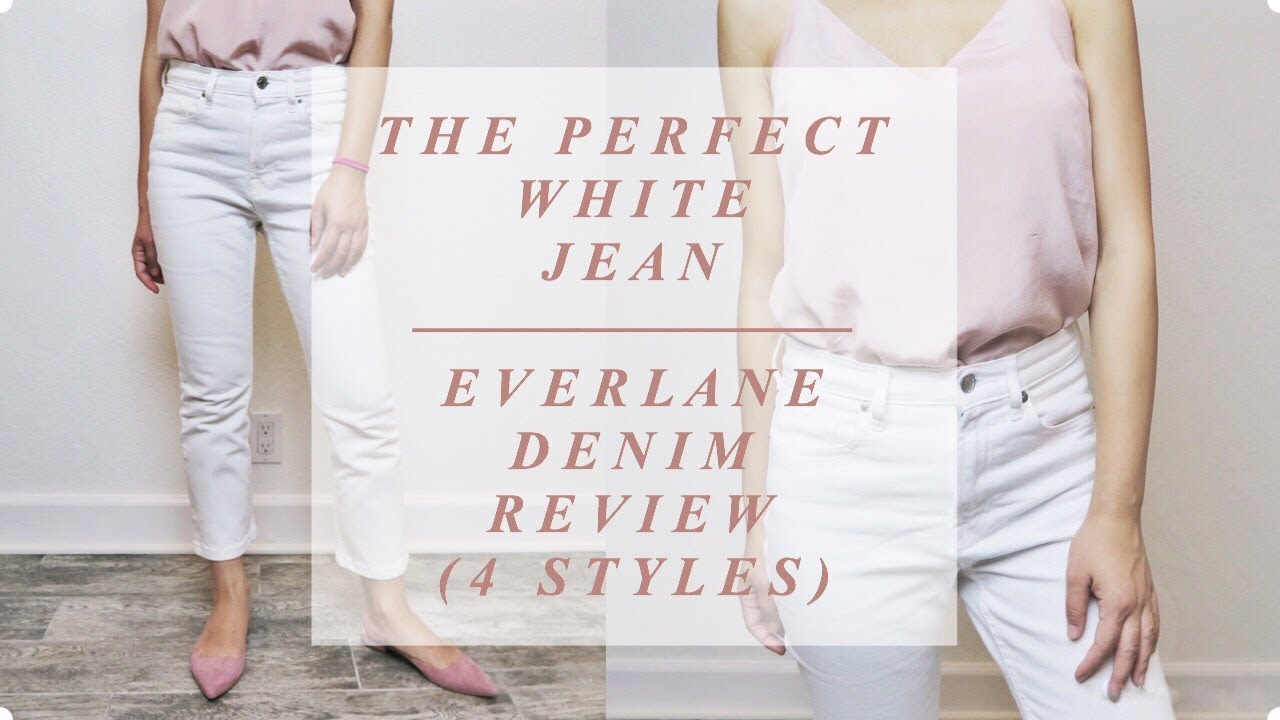 EVERLANE DENIM TRY ON HAUL & REVIEW (4 Styles) 1