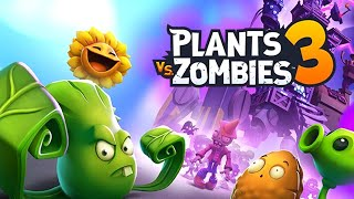 Plants vs. Zombies 3 - Gameplay Walkthrough Part 1 - New Plants New Zombies New Boss New Worlds