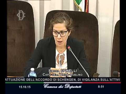 Roma fenomeno migratorio audizione capo unit dublino for V dipartimento ministero interno